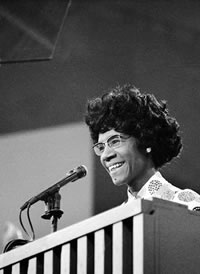 First black woman elected US Congress