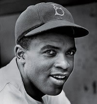 Jackie Robinson inducted