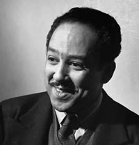 Poet Langston Hughes dies