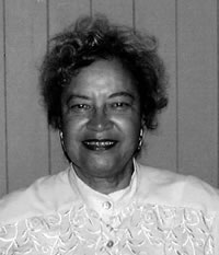 First African American female architect