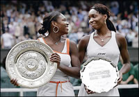 Williams sisters in US Open finals