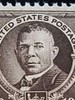 first black  US Postage Stamp